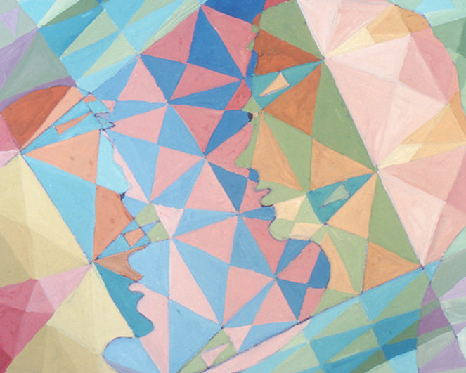 """""""Sans titre"""", gouache, 36x45 cm, 2001"""